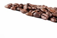 Coffee bean border Stock Images