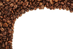 Coffee bean border Royalty Free Stock Photography