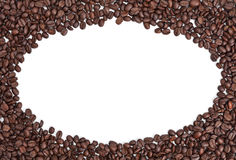 Coffee Bean Border Royalty Free Stock Image