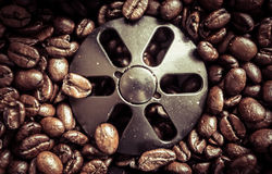 Coffee bean - caffeine Stock Images