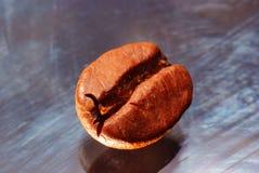 Coffee bean closeup. Macro view if coffee bean Stock Photo