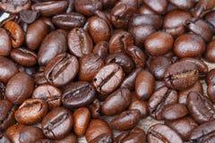 Coffee bean closeup. Coffee bean detail closeup texture Royalty Free Stock Photo