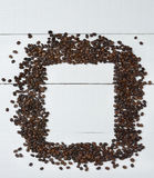 Coffee Bean Frame Stock Images