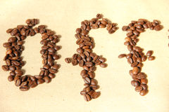 Coffee bean. Fresh roasted Arabica coffee beans Royalty Free Stock Images