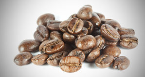 Coffee bean group Royalty Free Stock Image