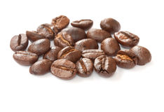 Coffee bean group close up Royalty Free Stock Photography