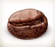 Coffee bean icon Stock Photo