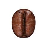Coffee Bean isolated. Macro Stock Photography