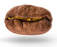 Coffee bean isolated on white background with clipping path Stock Photos