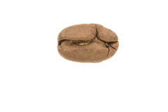 Coffee bean isolated on white background Stock Photography