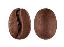 coffee bean isolated on white background Royalty Free Stock Photography
