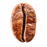 Coffee bean isolated on white. Clipping path Royalty Free Stock Image