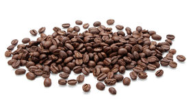 Coffee bean isolated on white Stock Image