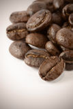 Coffee bean with macro shot Royalty Free Stock Image