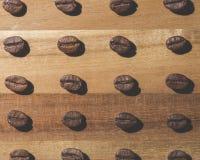 Coffee bean pattern Stock Photos