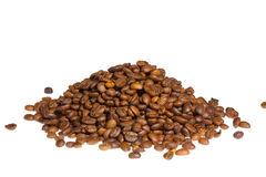 Coffee bean pile Royalty Free Stock Image