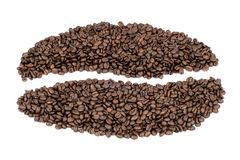 Coffee. Bean of roasted beans Stock Photo