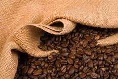 Coffee Bean Sack Stock Images
