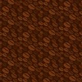 Coffee bean seamless Stock Image