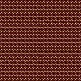 Coffee bean seamless pattern. Illustration of grains in a row. Also there is pattern in swatches Royalty Free Stock Images
