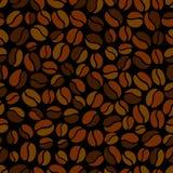 Coffee bean seamless pattern Royalty Free Stock Image