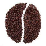Coffee Bean Shape Stock Photos