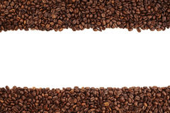 Coffee bean stripe Royalty Free Stock Photos
