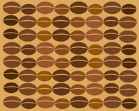 Coffee bean texture Stock Photography