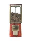 Coffee bean in vintage vending machine Royalty Free Stock Image