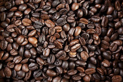 Coffee bean wallpaper Royalty Free Stock Photos