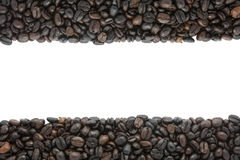 Coffee bean. On white background Stock Photography