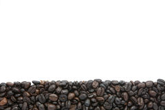 Coffee bean. On white background Stock Image
