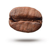 Coffee bean on white background stock image