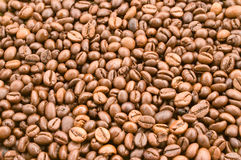 Coffee beans. Texture Royalty Free Stock Image