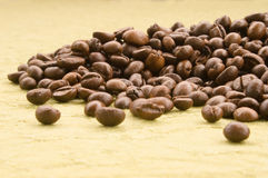 Coffee beans. Texture Stock Image