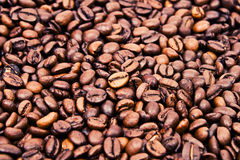 Coffee beans. Endless looking supply of coffee beans Stock Photo
