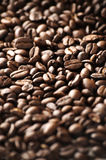 Coffee Beans. Close up of coffee beans, with shallow depth of field stock images