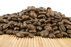 Coffee Beans. Isolated on white background Royalty Free Stock Images