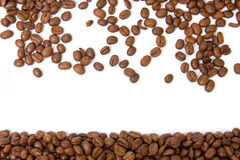 Coffee beans. Isolated on a white background Stock Photo