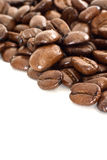 Coffee beans. Close up view Stock Photos