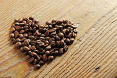 Coffee beans. Symbol of Love, coffee beans stock photos