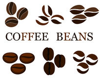 Coffee beans royalty free illustration