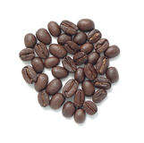 Coffee Beans. With White Background Stock Image