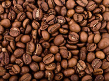 Coffee beans. A lot of coffee beans for a background Royalty Free Stock Image