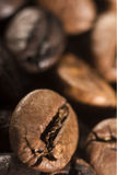 Coffee beans. Closeup with brown  coffee beans Stock Photo