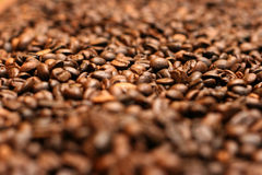 Coffee beans. Simple Coffee bean background Royalty Free Stock Photography