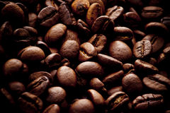 Coffee beans. A background image of coffee beans Stock Photography