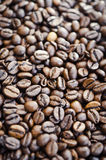 Coffee beans. Closeup background of coffee beans Stock Photography