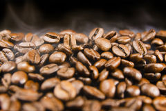 Coffee Beans. Freshly made coffee beans Royalty Free Stock Photography