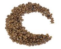 Coffee beans. Easy to isolate on white background Stock Photos